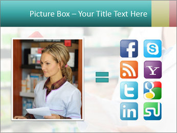 Female pharmacist PowerPoint Template - Slide 21