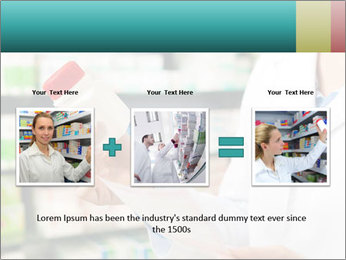 Female pharmacist PowerPoint Template - Slide 22