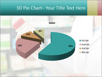 Female pharmacist PowerPoint Template - Slide 35