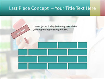 Female pharmacist PowerPoint Template - Slide 46