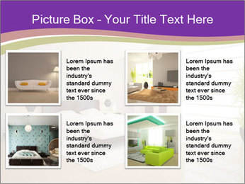 White modern bedroom PowerPoint Templates - Slide 14