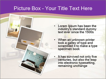 White modern bedroom PowerPoint Templates - Slide 17