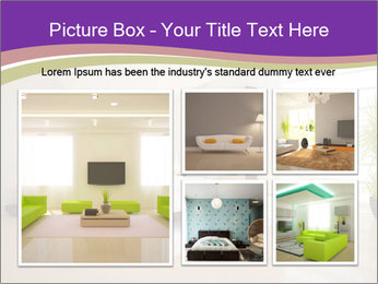 White modern bedroom PowerPoint Templates - Slide 19