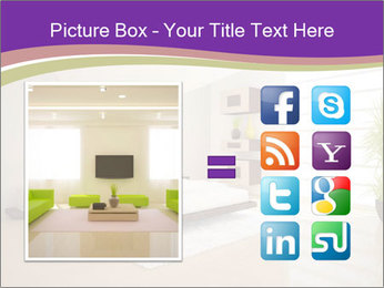 White modern bedroom PowerPoint Templates - Slide 21