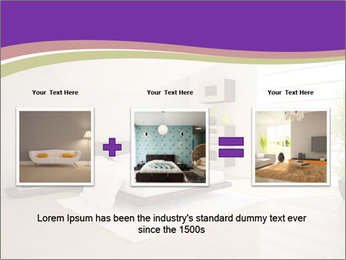 White modern bedroom PowerPoint Templates - Slide 22