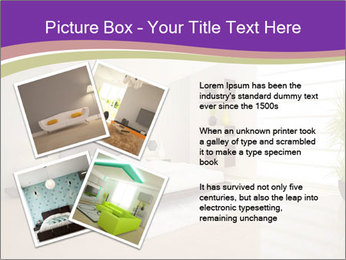 White modern bedroom PowerPoint Templates - Slide 23