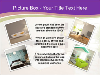 White modern bedroom PowerPoint Templates - Slide 24