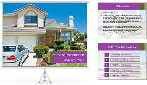 New American dream PowerPoint Template