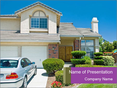 New American dream PowerPoint Templates