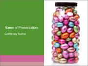 Chocolate easter-eggs PowerPoint Templates