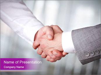 Handshaking Plantillas de Presentaciones PowerPoint