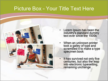 Young hispanic female PowerPoint Templates - Slide 20
