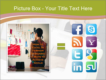 Young hispanic female PowerPoint Templates - Slide 21