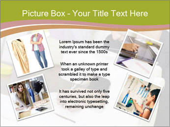 Young hispanic female PowerPoint Templates - Slide 24