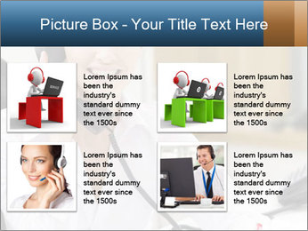 Portrait of a young businesswoman PowerPoint Template - Slide 14