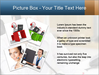 Portrait of a young businesswoman PowerPoint Template - Slide 23