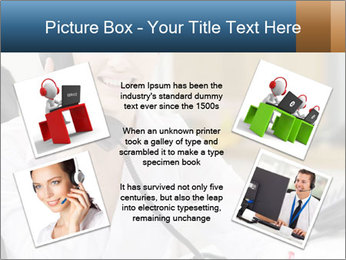Portrait of a young businesswoman PowerPoint Template - Slide 24