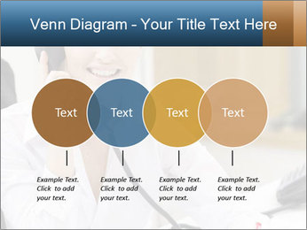 Portrait of a young businesswoman PowerPoint Template - Slide 32