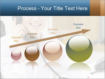 Portrait of a young businesswoman PowerPoint Template - Slide 87