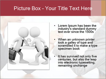Portrait of business competitors PowerPoint Templates - Slide 13