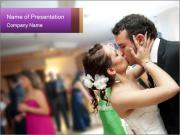 Just married couple PowerPoint Templates