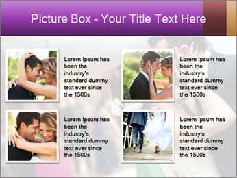 Just married couple PowerPoint Template - Slide 14