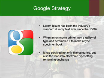 Beauty brunette PowerPoint Template - Slide 10