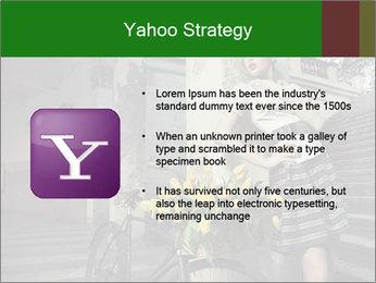 Beauty brunette PowerPoint Template - Slide 11