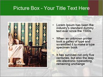 Beauty brunette PowerPoint Template - Slide 13