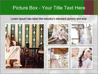 Beauty brunette PowerPoint Template - Slide 19