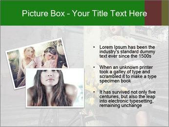 Beauty brunette PowerPoint Template - Slide 20