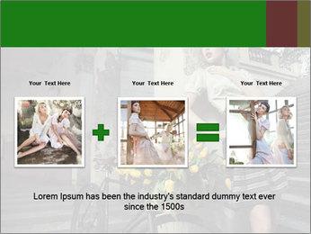 Beauty brunette PowerPoint Template - Slide 22