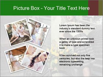Beauty brunette PowerPoint Template - Slide 23