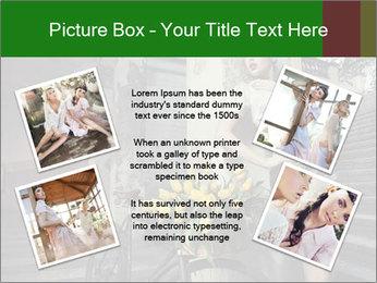 Beauty brunette PowerPoint Template - Slide 24