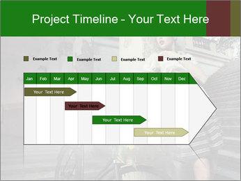 Beauty brunette PowerPoint Template - Slide 25