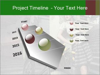 Beauty brunette PowerPoint Template - Slide 26