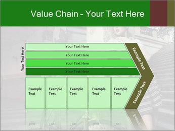 Beauty brunette PowerPoint Template - Slide 27