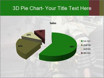 Beauty brunette PowerPoint Template - Slide 35