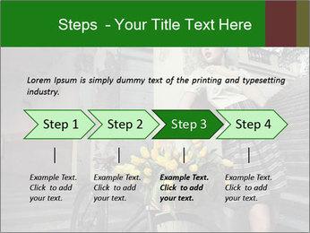 Beauty brunette PowerPoint Template - Slide 4