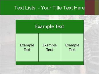 Beauty brunette PowerPoint Template - Slide 59