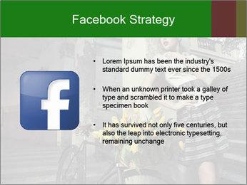 Beauty brunette PowerPoint Template - Slide 6