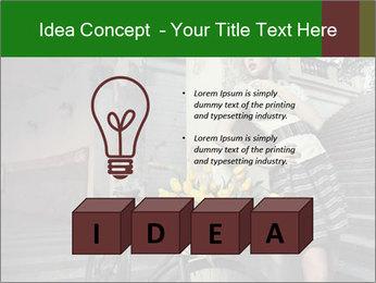 Beauty brunette PowerPoint Template - Slide 80