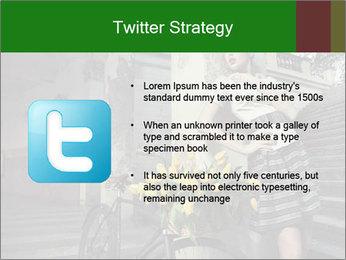 Beauty brunette PowerPoint Template - Slide 9