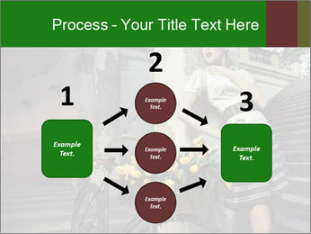 Beauty brunette PowerPoint Template - Slide 92