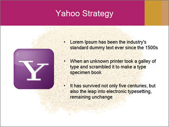 A pile of soy lecithin granules PowerPoint Template - Slide 11