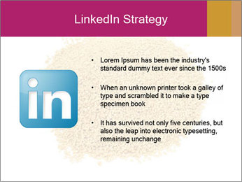 A pile of soy lecithin granules PowerPoint Template - Slide 12