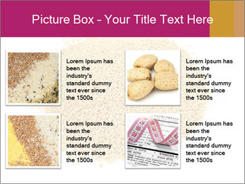 A pile of soy lecithin granules PowerPoint Templates - Slide 14