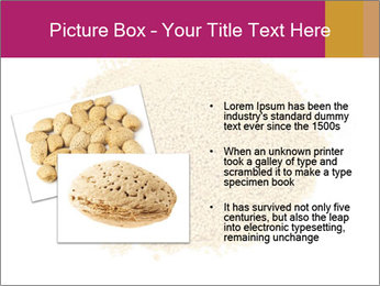 A pile of soy lecithin granules PowerPoint Template - Slide 20
