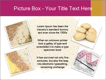 A pile of soy lecithin granules PowerPoint Template - Slide 24