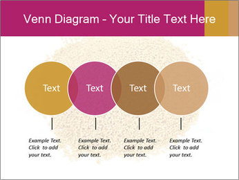 A pile of soy lecithin granules PowerPoint Template - Slide 32